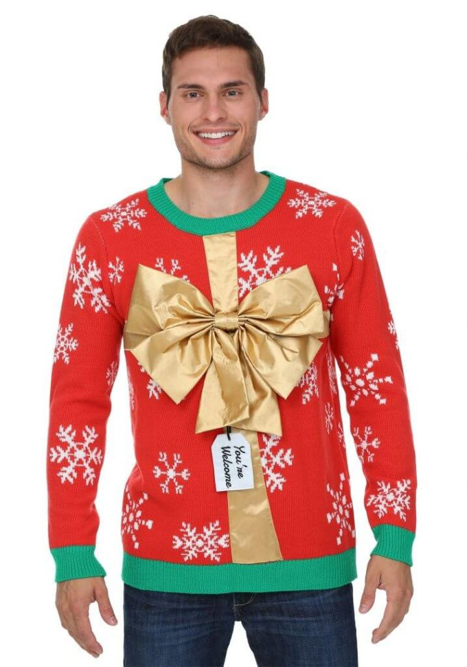 ugly christmas sweater present ideas for men
