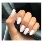 white coffin nails