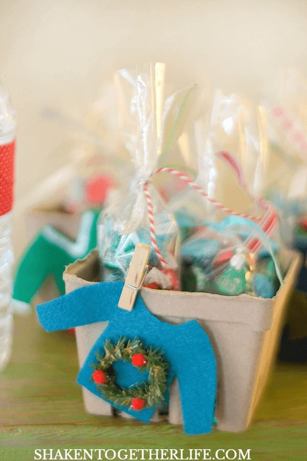 christmas party treats gift wrap decorations