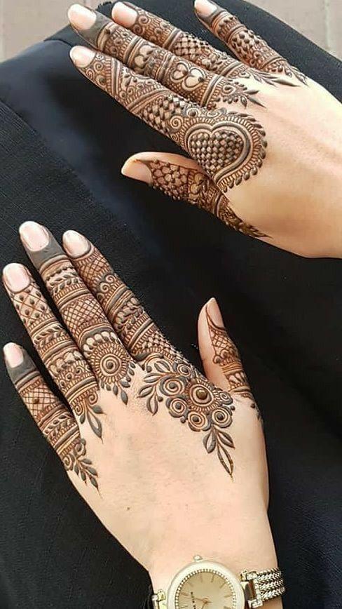 finger jewelry mehndi designs for 2020