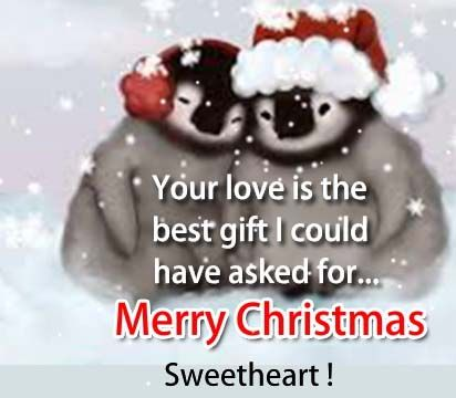 merry christmas sweetheart images
