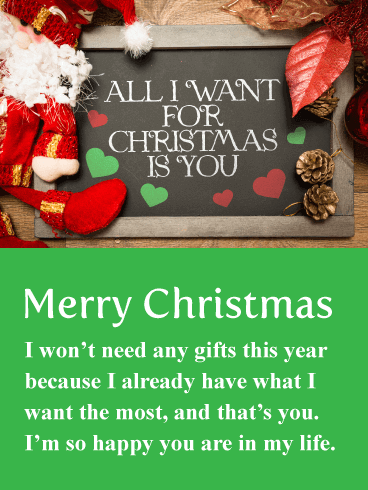romantic merry christmas messages