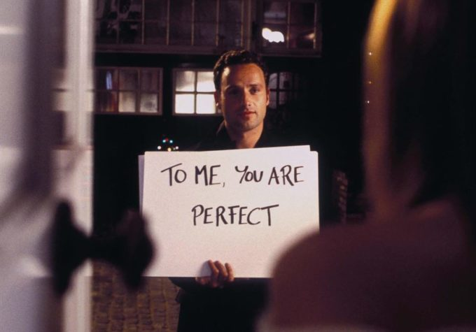 famous movie love actually- cute romantic love sayings