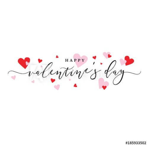 download free happy valentines day pink and red hearts background image