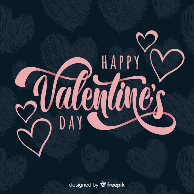 download free pink happy valentines day background image
