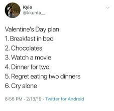 happy valentines day funny memes for single