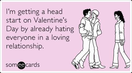 i hate valentines day meme ecards