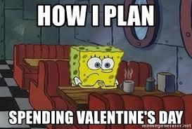 me on valentines day meme